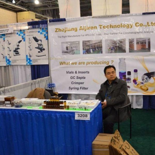 Aijiren participated in the 2014 Pittcon exhibition in Chicago, USA.